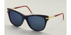 Okulary przeciwsłoneczne Thom Browne TB506C-NVY-GLD