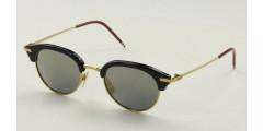 Okulary przeciwsłoneczne Thom Browne TB706B-T-NVY-GLD